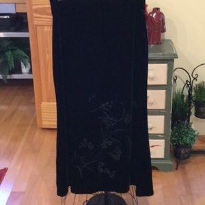 New old stock Liz Claiborne Velvet Skirt